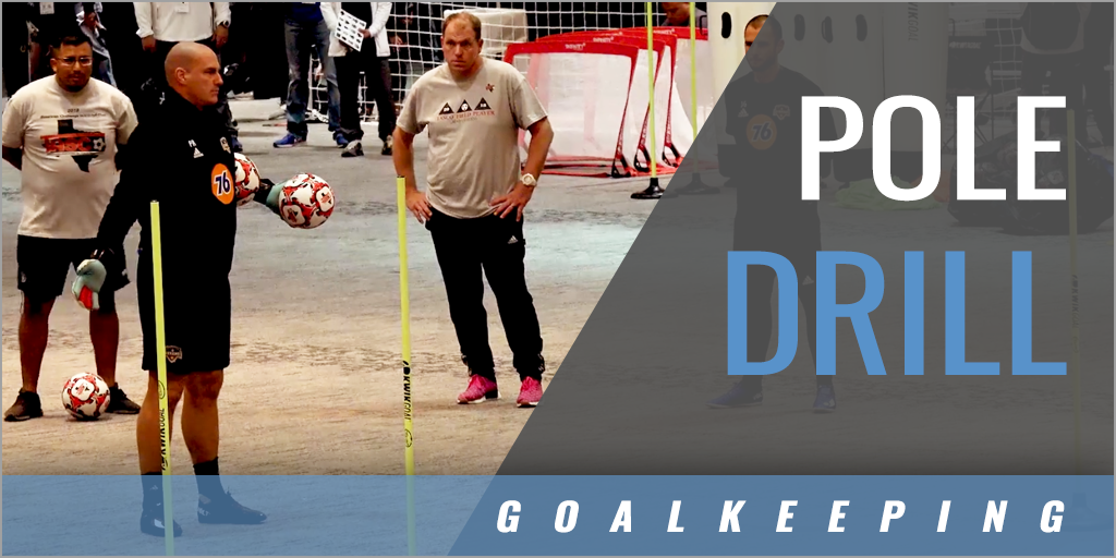 Goalkeepers Pole Drill