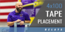 4×100 Relay Tape Placement with Chris Parno – Minnesota State Univ.