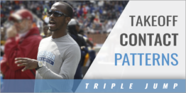 Triple Jump: Foot Takeoff Contact Patterns