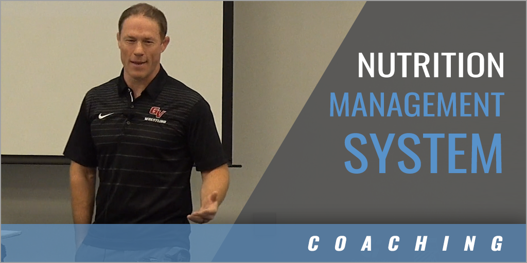 The Value of a Nutrition Management System
