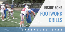 Inside Zone Footwork Drills