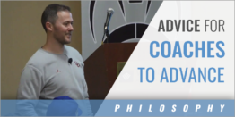 Advice for Making it to the Next Coaching Level