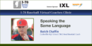 Speaking the Same Language with Butch Chaffin – Cookeville HS (TN)