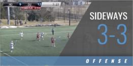 Extra Man Offense: Sideways 3-3