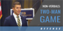 Non-Verbals: Two-Man Game with Justin Turri – Univ. of Michigan