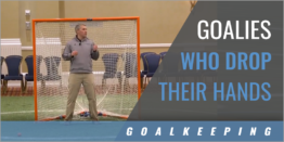 Goalies Who Drop Their Hands