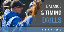Hitting: Balance and Timing Drills