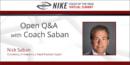 Open Q&A with Nick Saban – University of Alabama
