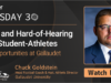 EP 37: Deaf and Hard-of-Hearing Athletes' Opportunities with Chuck Goldstein – Gallaudet University