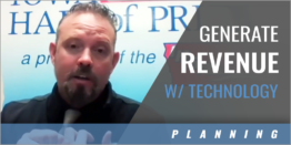 Using Technology to Generate Revenue