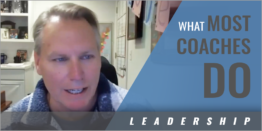 Teaching Leadership: This Is What Most Coaches Do