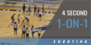 4 Second 1-on-1 Drill with Matthew Driscoll – Univ. of North Florida