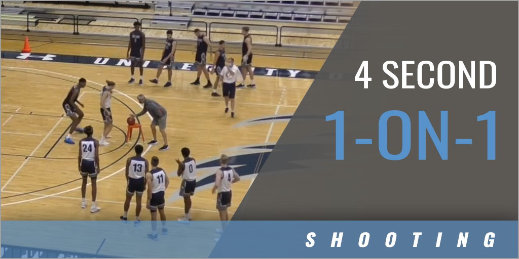 4 Second 1-on-1 Drill