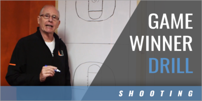 Game Winning Shots Drill