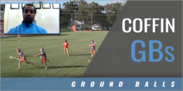 Coffin Ground Balls Drill