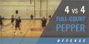 4 vs. 4 Full-Court Pepper Drill with Nancy Dorsey – St. James Academy (KS)