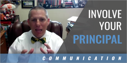How to Involve Your Principal in the Athletic Program