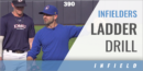 Infielders Ladder Drill with KJ Hendricks – Milwaukee Brewers