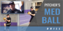Pitcher's Med Ball Drill with John Vodenlich – UW-Whitewater