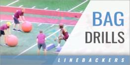 Linebacker's Bag Drills