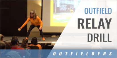 Outfield Relay Drill