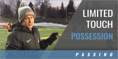 Limited Touch Possession Game