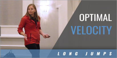 Long Jump: Optimal Velocity