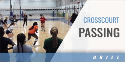 Crosscourt Passing Drill