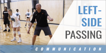 Left Side Passing Communication Drill