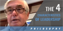The Four Characteristics of Leadership with Dr. Kevin White - Duke Univ.
