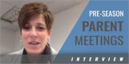 Pre-Season Parent Meetings