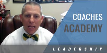 Establishing a Coaches Academy