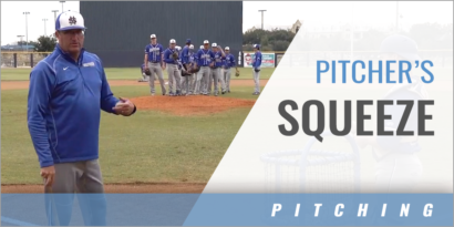 Pitcher's Squeeze Fielding