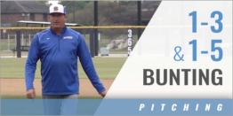 Pitcher's 1-3 & 1-5 Bunting Drill