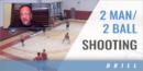 2 Man/2 Ball Shooting with Tom Crean – Univ. of Georgia