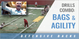 Bags and Agility Drill