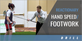 Reactionary Hand Speed/Footwork Drill