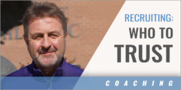 Recruiting: Who to Trust