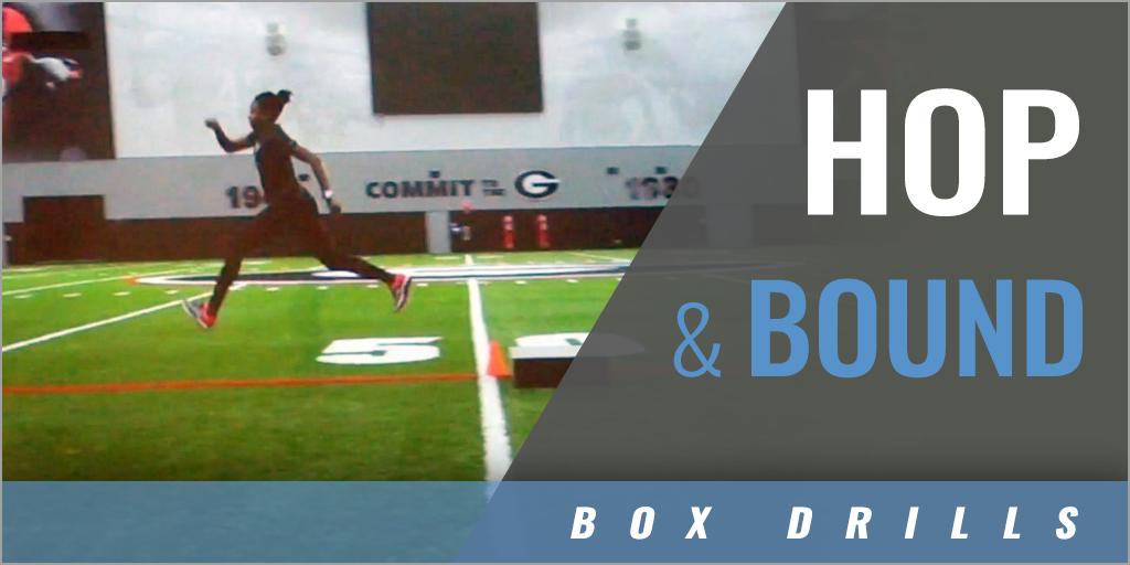 Box Drills: Hop and Bound