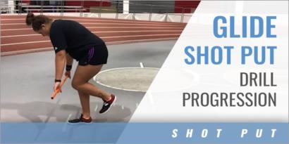 Glide Shot Put Drill Progression