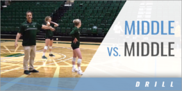 Middle vs. Middle Team Drill