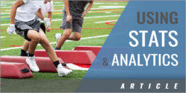 Using Stats and Analytics in Our Program