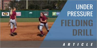 Great Fielding Drill Under Pressure