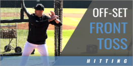 Off-Set Front Toss Spin Hitting Drill