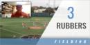 3 Rubbers Fielding Drill with David Pierce – Univ. of Texas