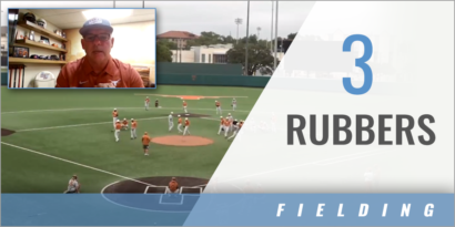 3 Rubbers Fielding Drill