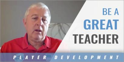 Be a Great Teacher