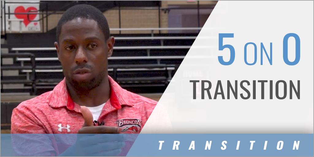 5 on 0 Transition Drill
