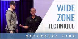 Offensive Line Wide Zone Technique