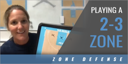 Coaching Decisions When Playing a 2-3 Zone